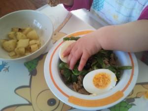 BLW Salad Nicoise