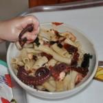 Octopus Pasta BLW