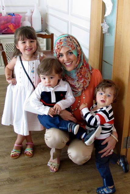 having a baby abroad Dubai little farasha maha